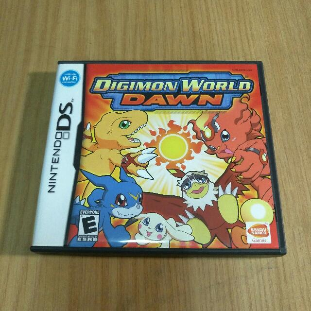 digimon world dawn ds download