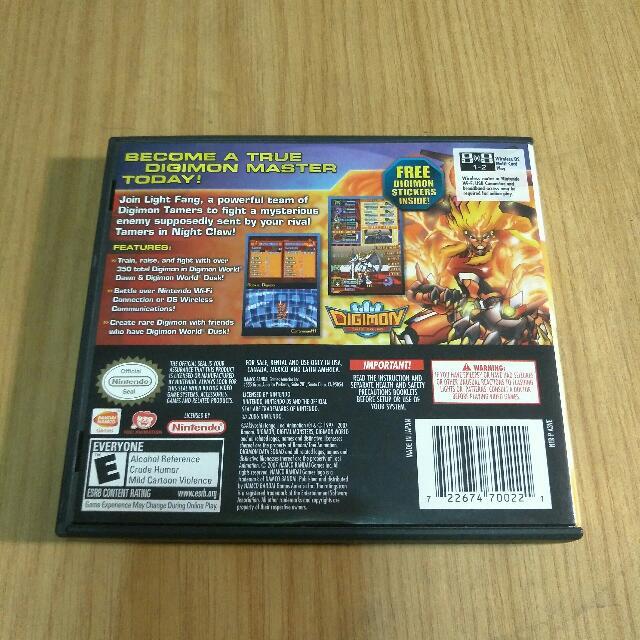 Digimon World Dawn Nintendo DS on Carousell