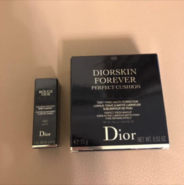 Dior迪奧超完美持久氣墊粉餅#020