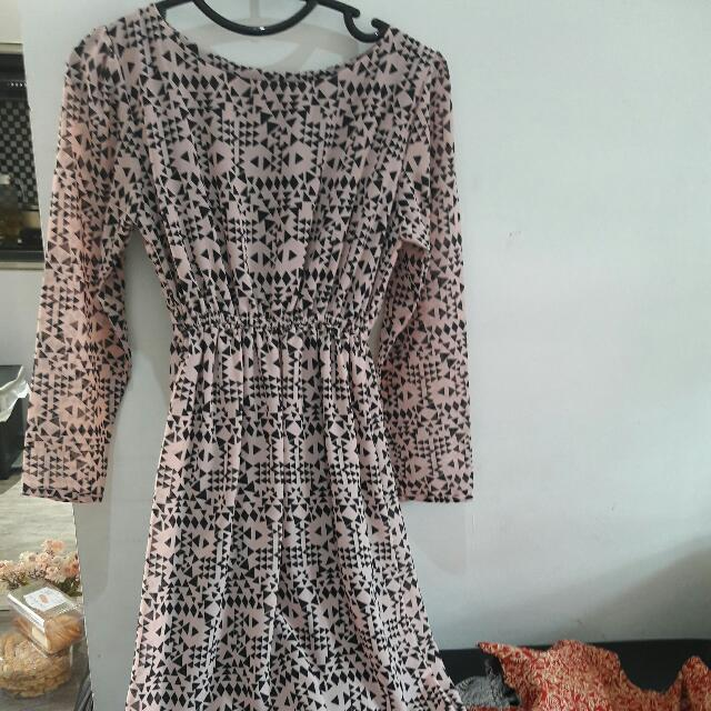 Dress Panjang Pink