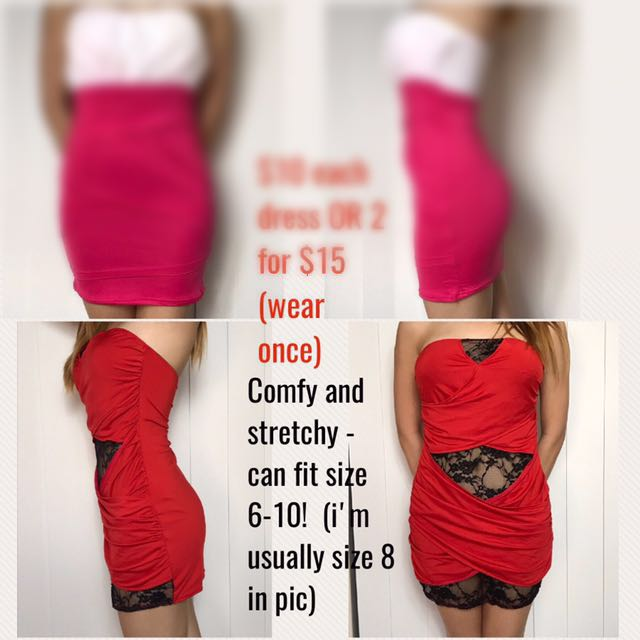 Dresses - Boob Tubes - Bodycon