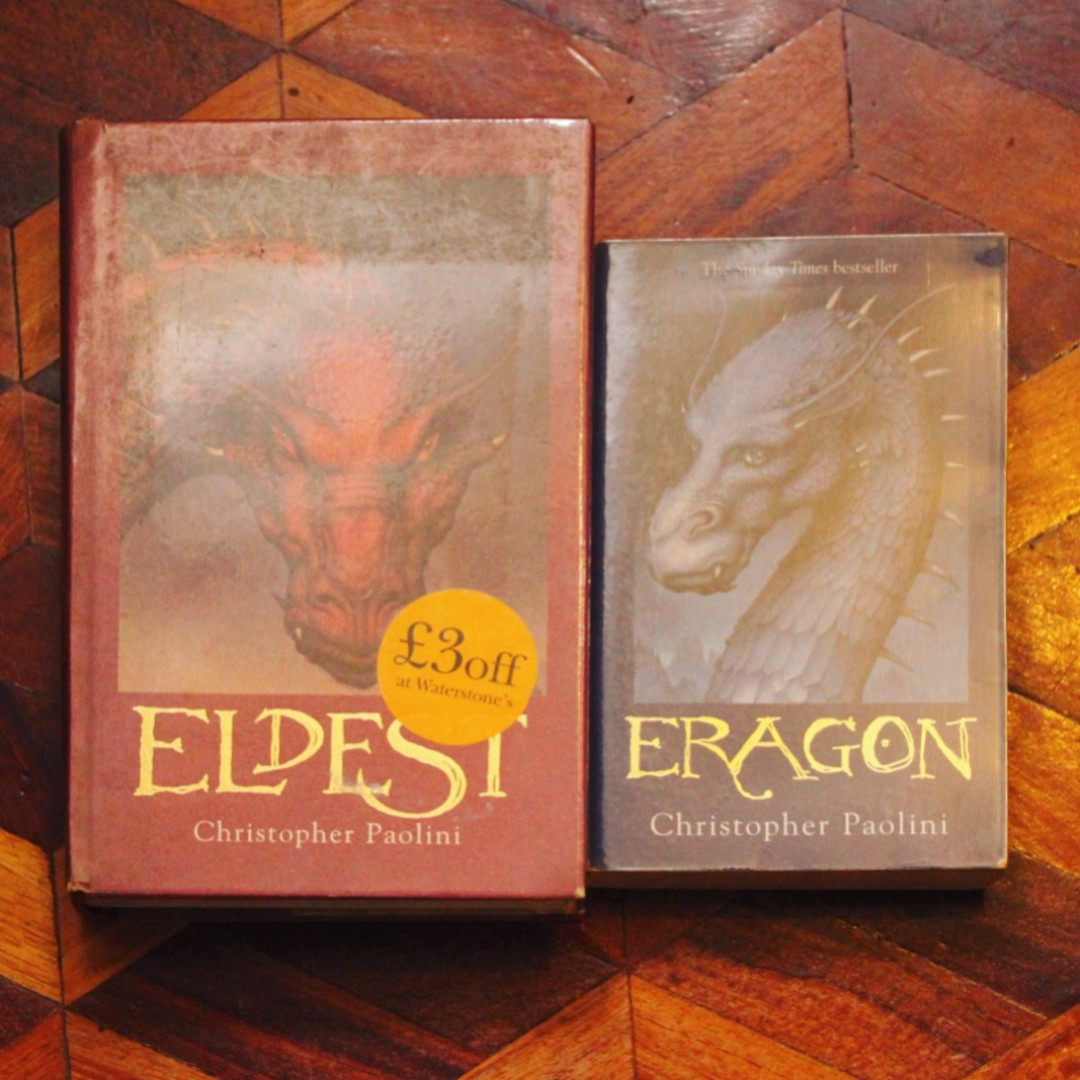 Eragon + Eldest by Christopher Paolini (SET)