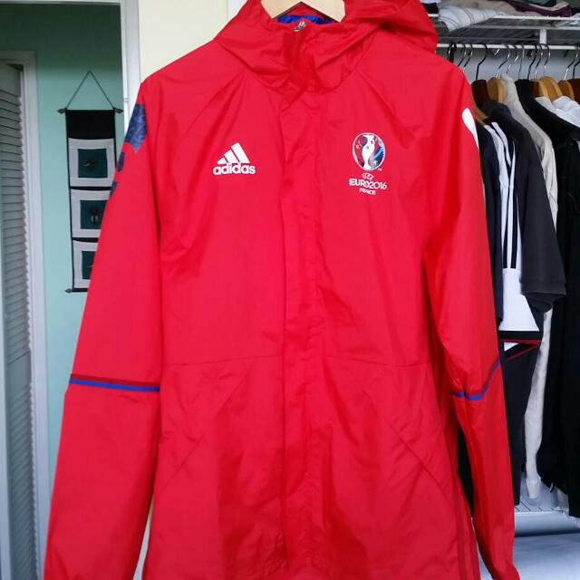 EURO 2016 Adidas Technical Rainjacket/windbreaker