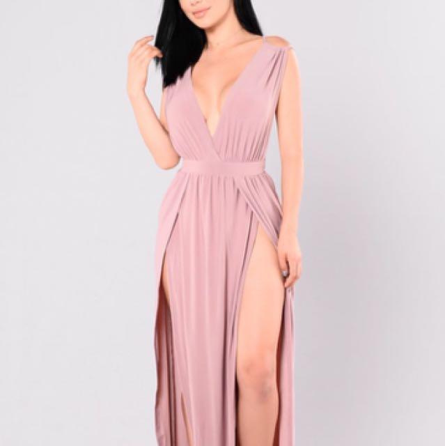 Fashion Nova Maxi Dress
