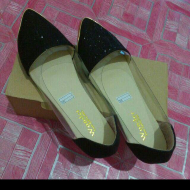 Flat Shoes Teplek Mika Glitter