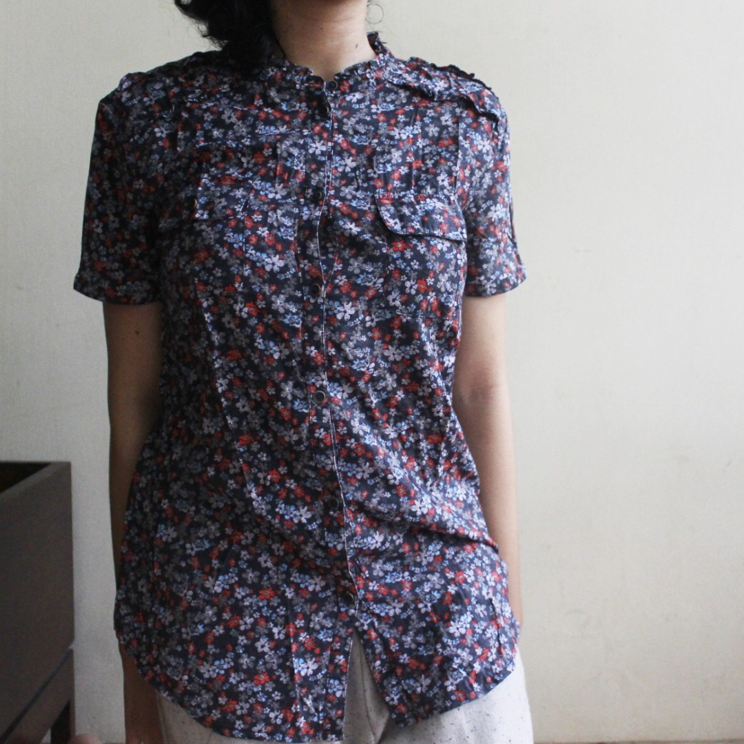 #Clearance Sale: Floral Printed Summer Shirt