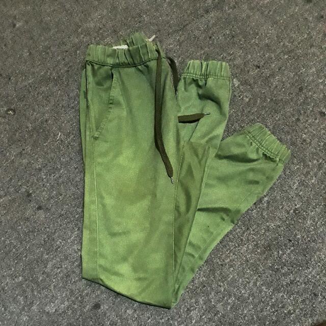 Folded $ Hung Jogger Pants