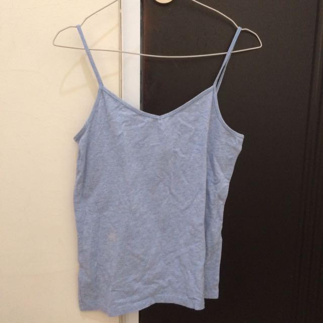 FOREVER21 blue tank top