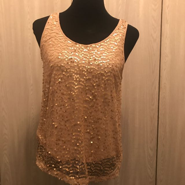 Forever 21 Sequined Top