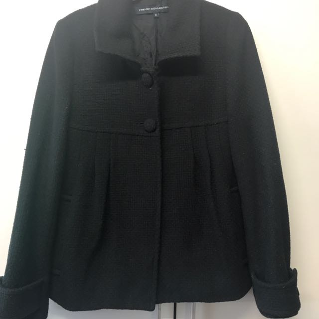 French Connection Babydoll Coat