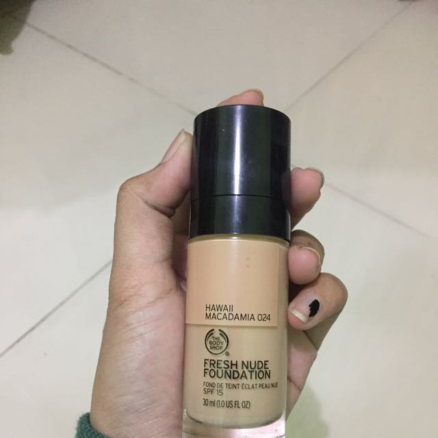 fresh nude foundation by the body shop