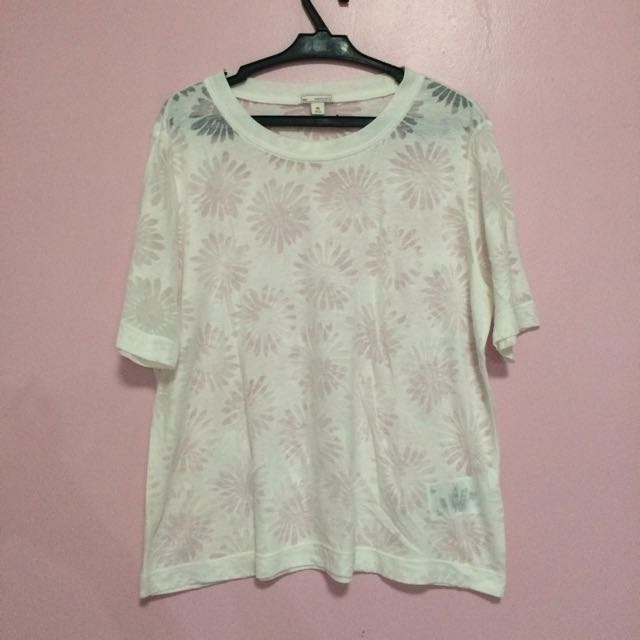 Gap White Oversized Shirt