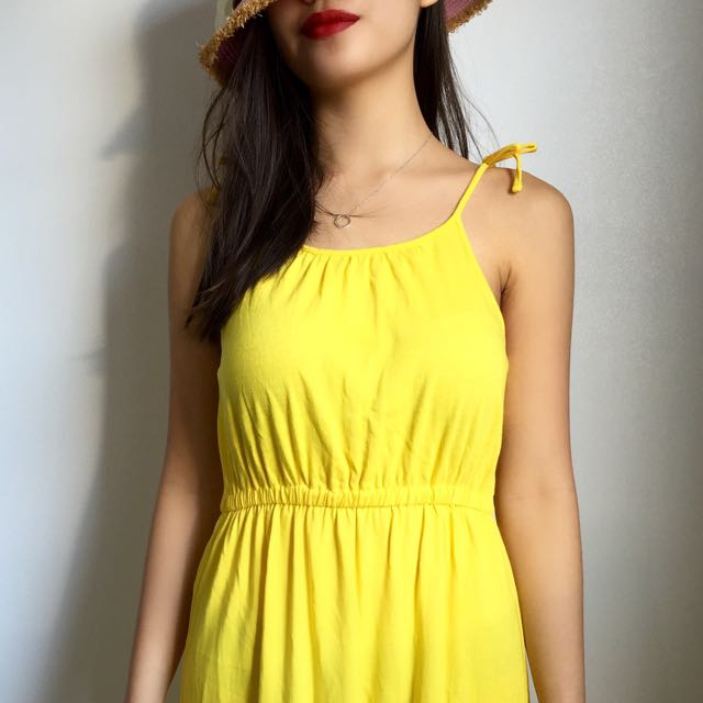 GapKids Maxi Dress (Yellow)