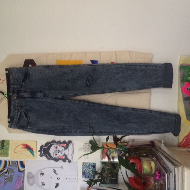 GLASSONS ACID WASH JEANS