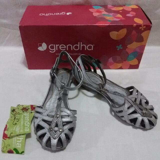 Grendha Shoes for Kids (Silver)