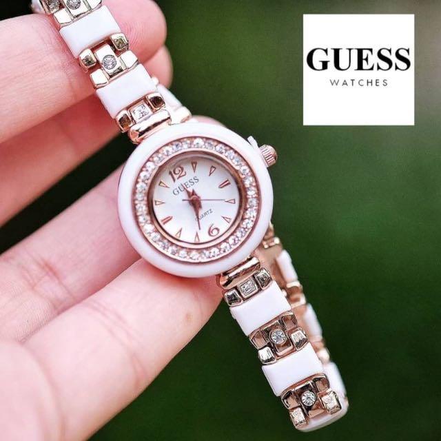 GUESS WHITE DIAMON