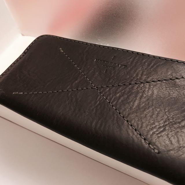 Hard Graft 英國手工羊毛氈皮件 Iphone5 保護套