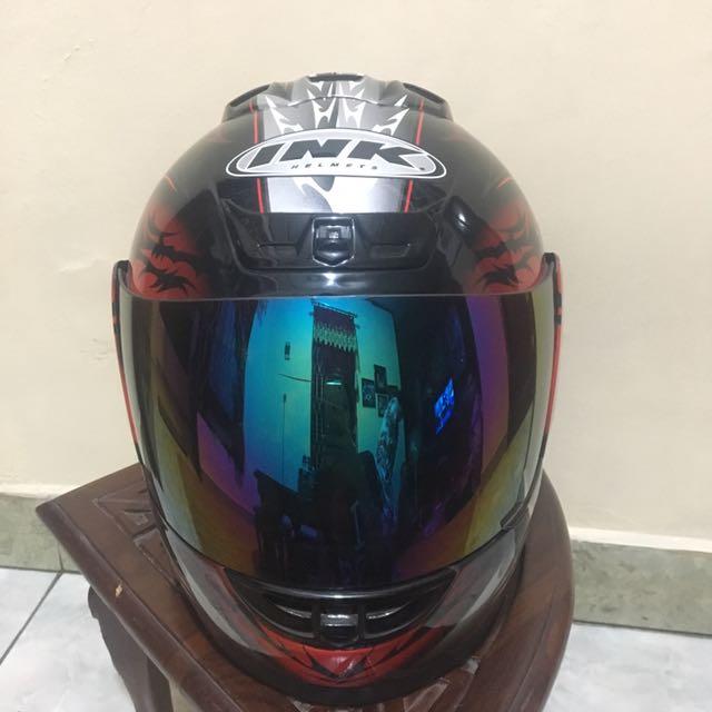 Helm Full Face Ink
