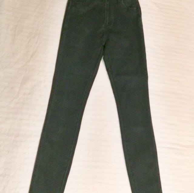 High Waisted Dark Navy Jeans