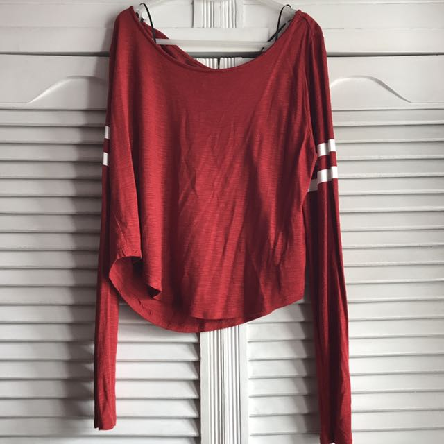 H&M Red long Sleeved