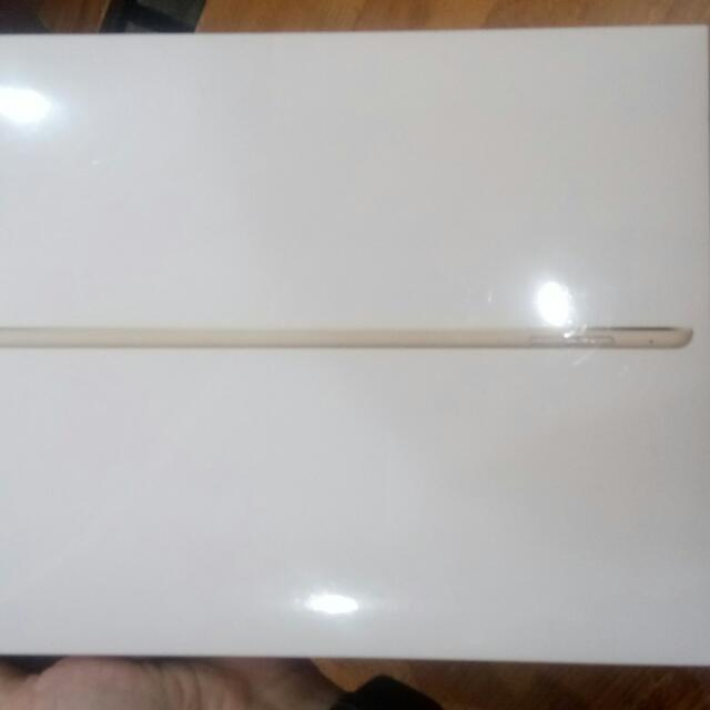 Ipad Air2-金-wifi版-32G全新未拆封!不議價哦!