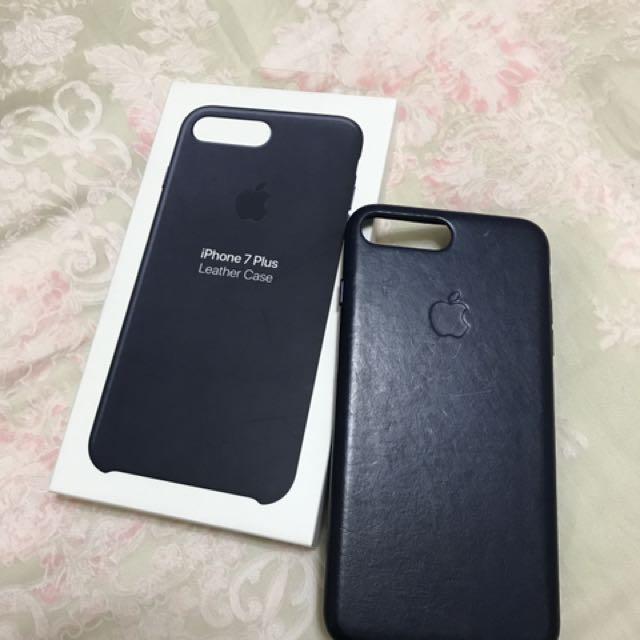 Iphone7 Plus真皮手機殼