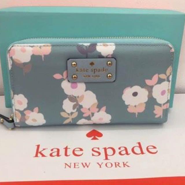 Kate Spade Floral Wallets