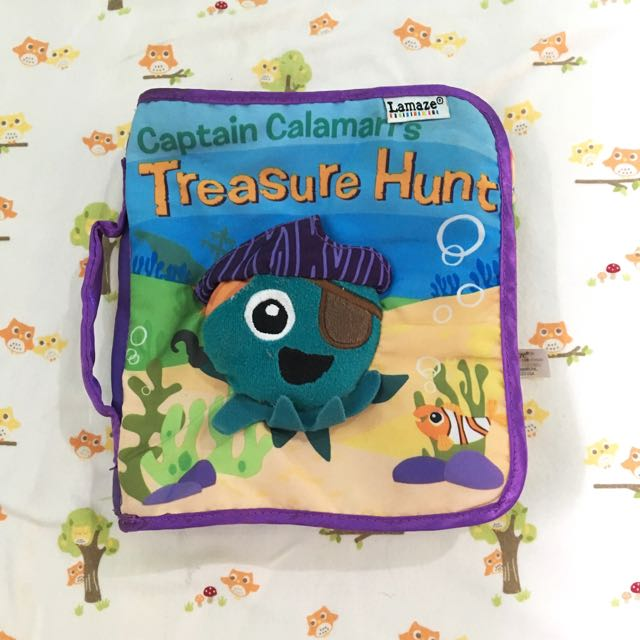Lamaze Captain Calamari Soft Cloth Book