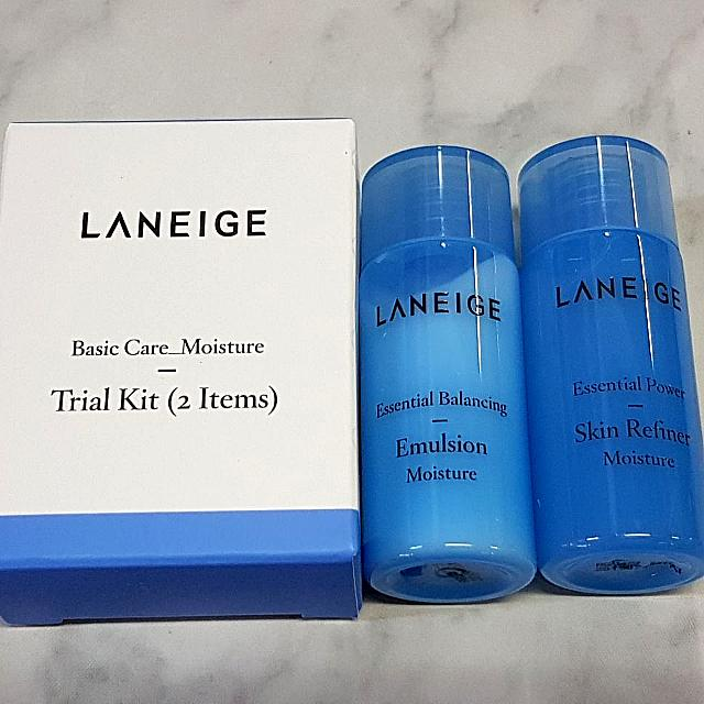 Laneige Skin Care Trial