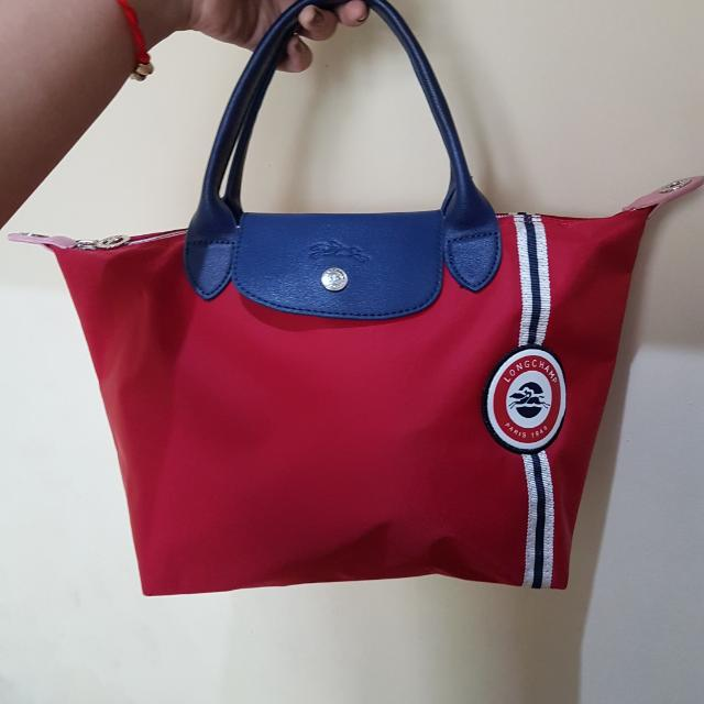 Long Champ Merah Size S