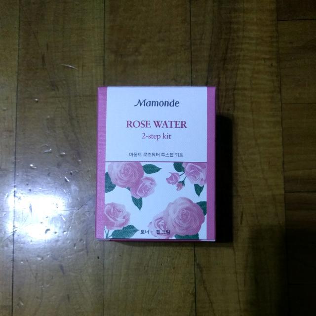 Mamonde 玫瑰化妝水+保濕霜