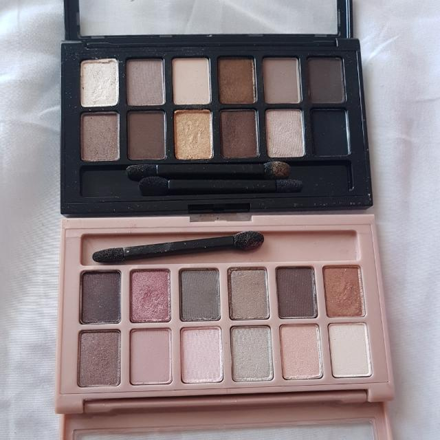 MAYBELLINE The Nudes Palettes