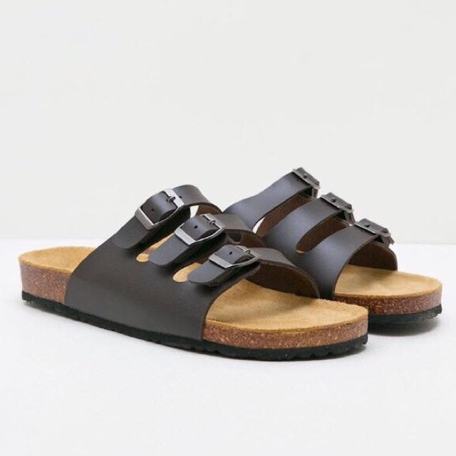 Men Derby Sandal Coffee