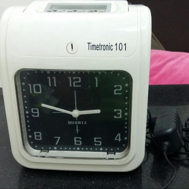 Mesin Absen Kartu TimeTronic 101