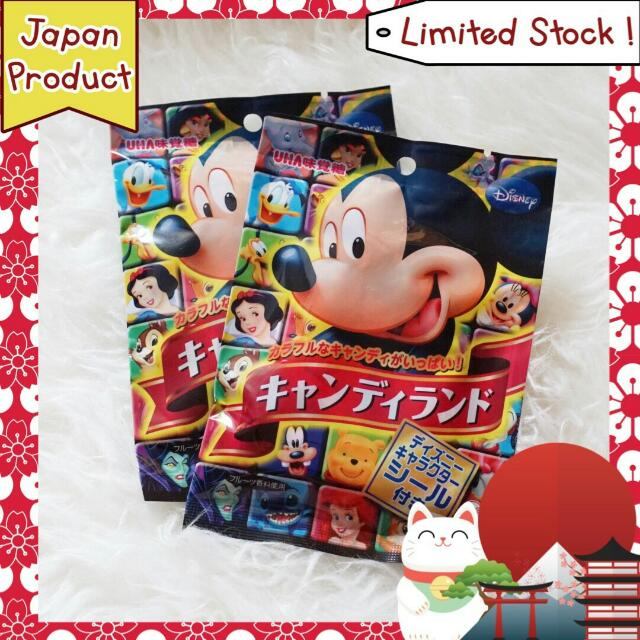 Mickey Candy Japan Product