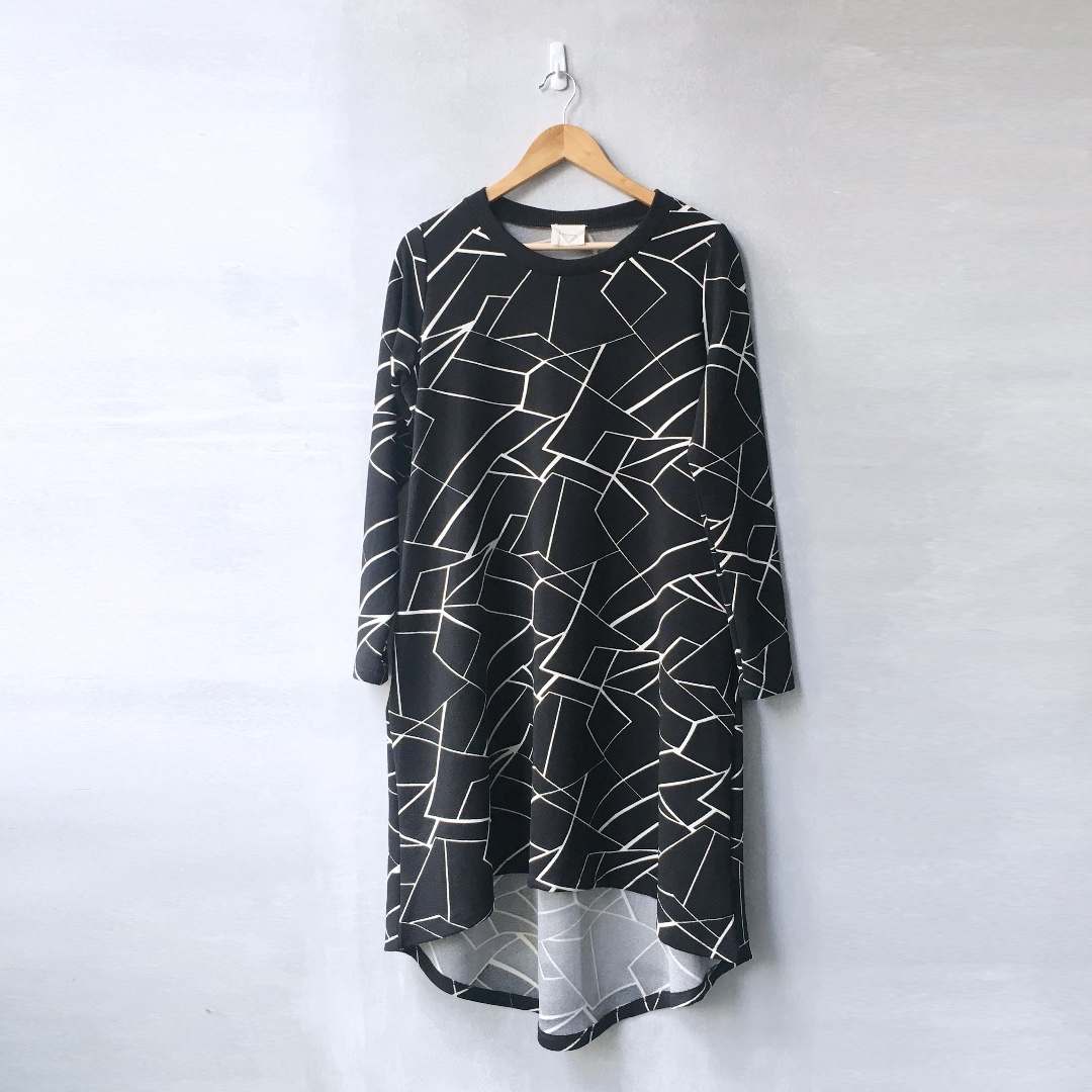 Midi Hi-lo Oversized Sweater Dress