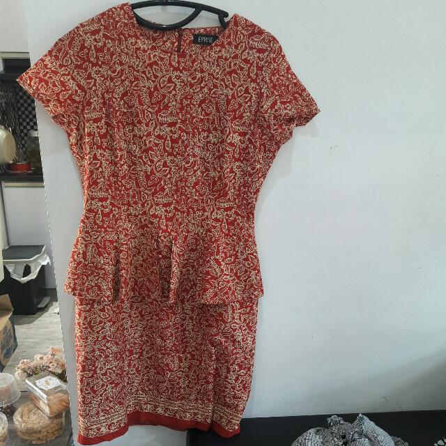 Mini Dress P Plump Batik