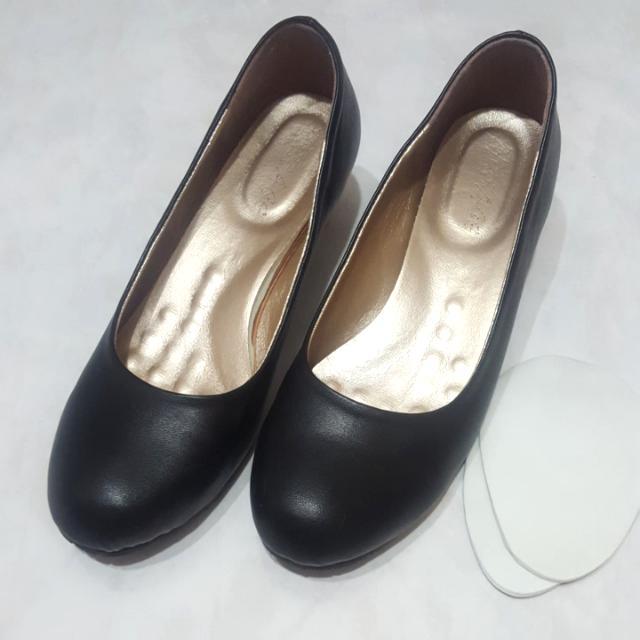 MIT黑色低跟鞋 面試鞋