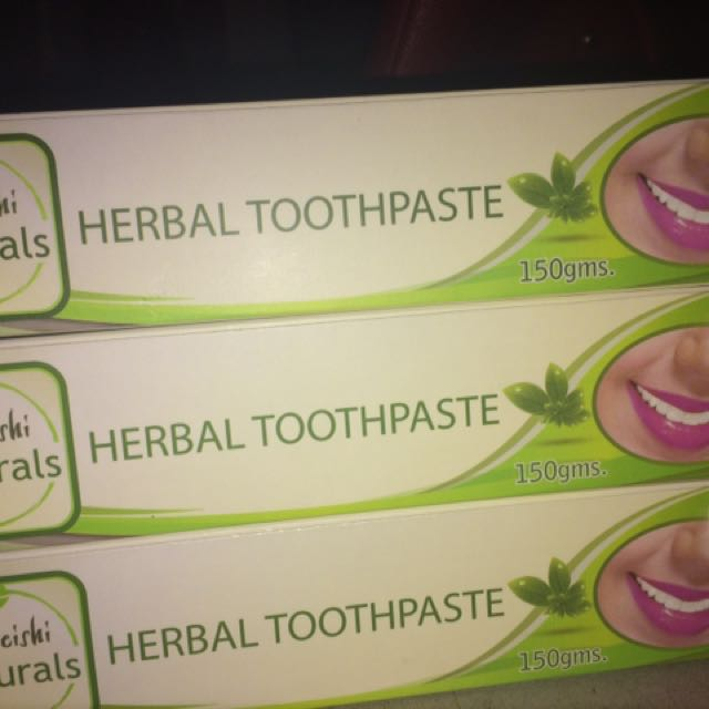 Moreishi Naturals Herbal toothpaste