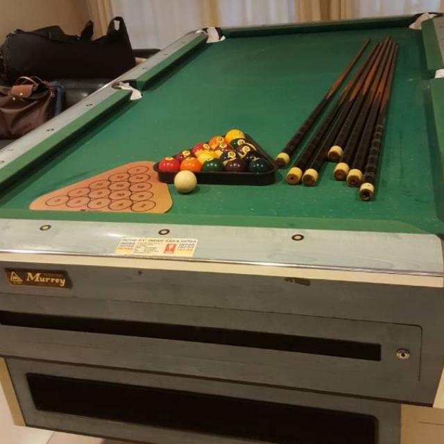 Billoard Table Set Murrey 1995