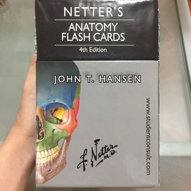 Netters Anatomy Flash Cards Medical School Reference Toys