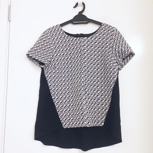 NEW Anthropologie Thick Shell Top