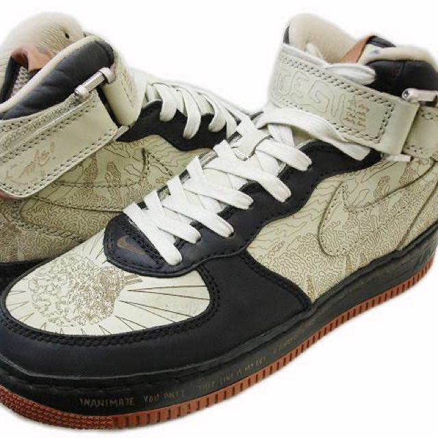 NEW Nike Air Force 1 Mid shoes - Insideout Laser Etch US Sz 10.5