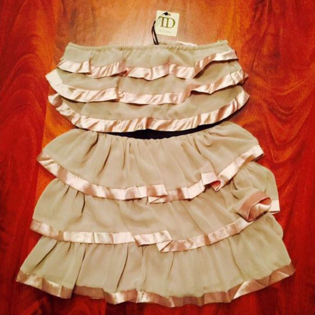 **NEW True Decadence Size 8 Ruffled Dress