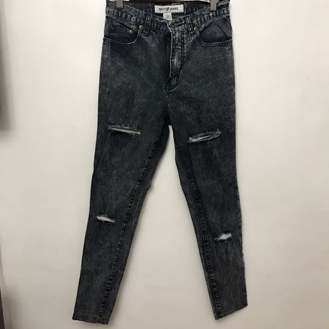 Next Jeans Tattered Jeans