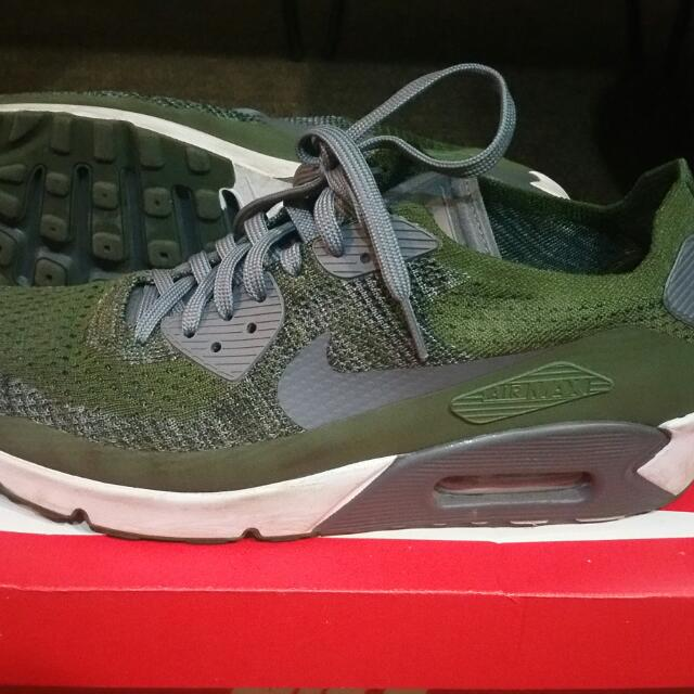 c00099edc9 Nike Air Max 90 Ultra 2.0 Flyknit, Men's Fashion, Footwear on Carousell