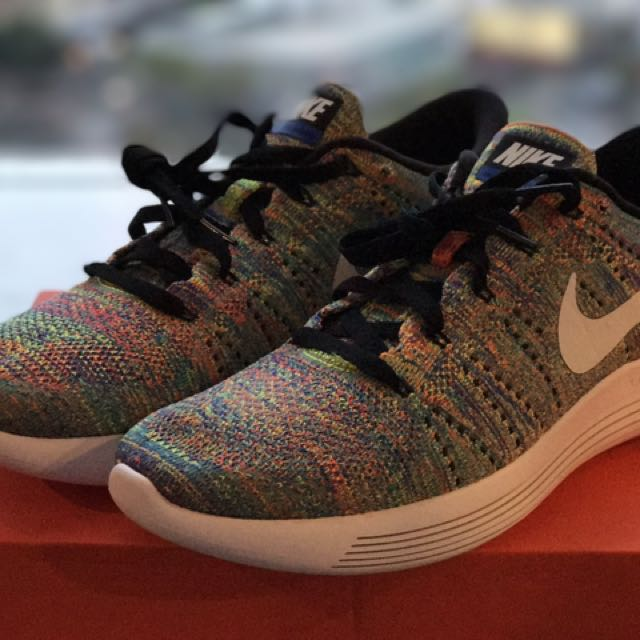 Nike Lunarepic Low Flyknit Multicolor US 9.5
