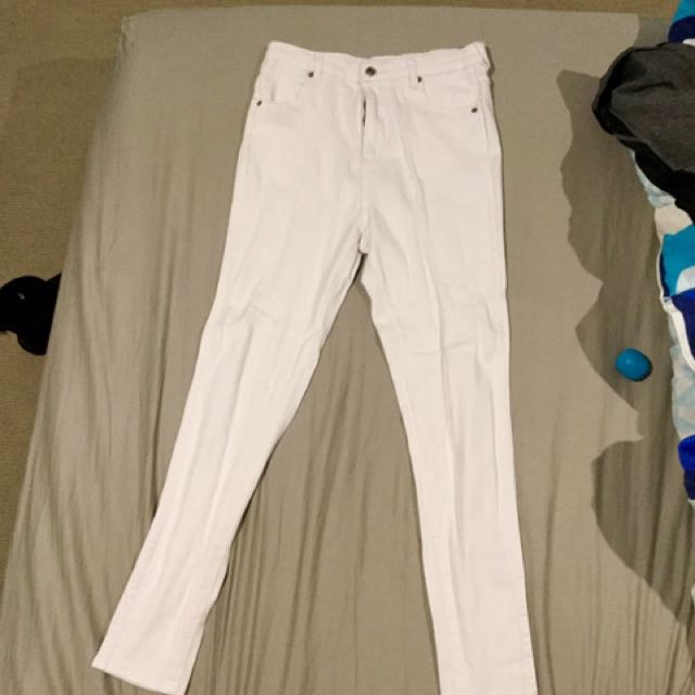 NINNIE WHITE JEAN LARGE