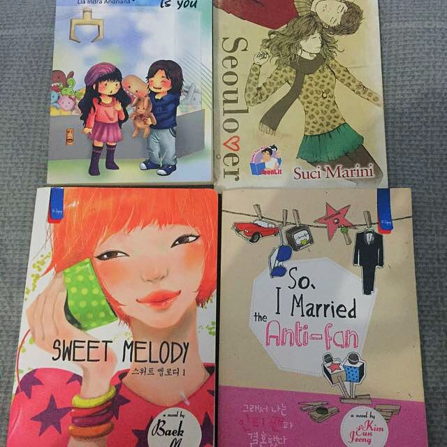Novel Korea So, I Married The Anti-fan, Seoulmate, Sweet Melody, dan Seoulover