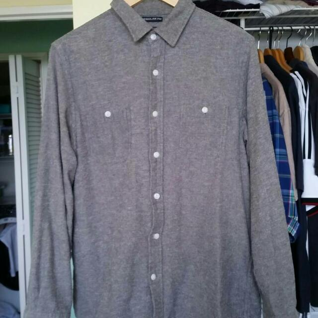 Old Navy Vintage Fleece Flannel
